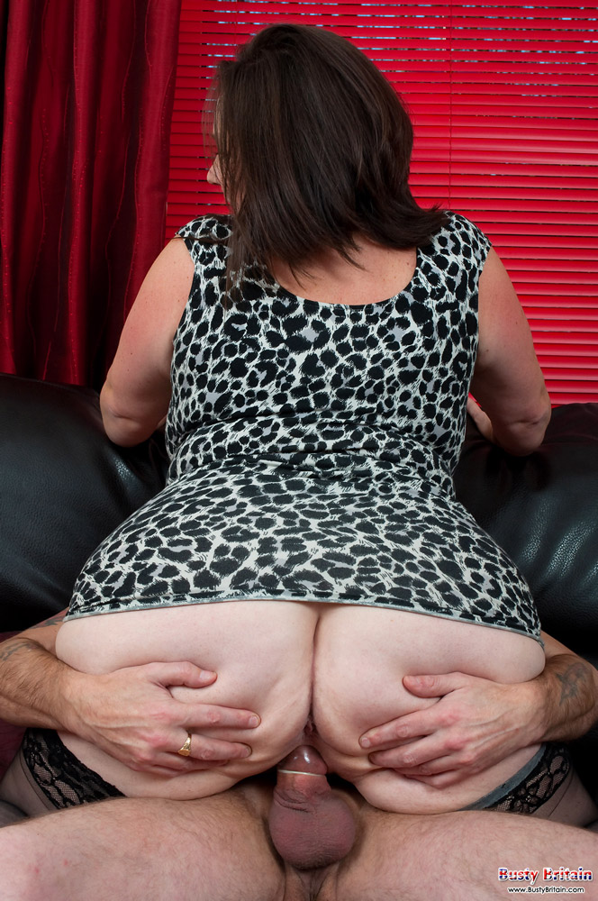 image British granny gets her panties fucked